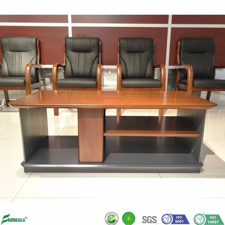 Hot Item 2019 New Design Fashion Wooden Veneer Centre Table For Furniture J1867