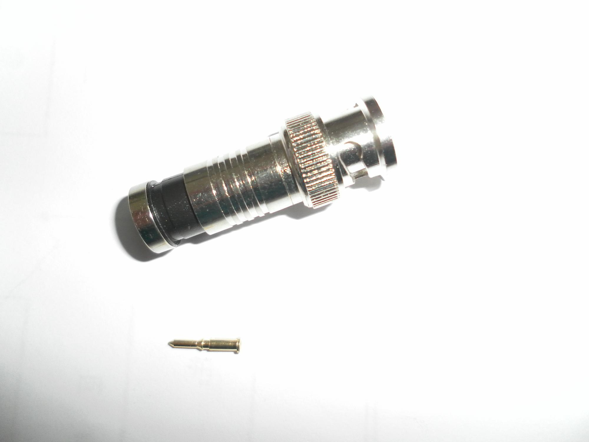 BNC Compression Connector BNC Connector for Rg58 59 6