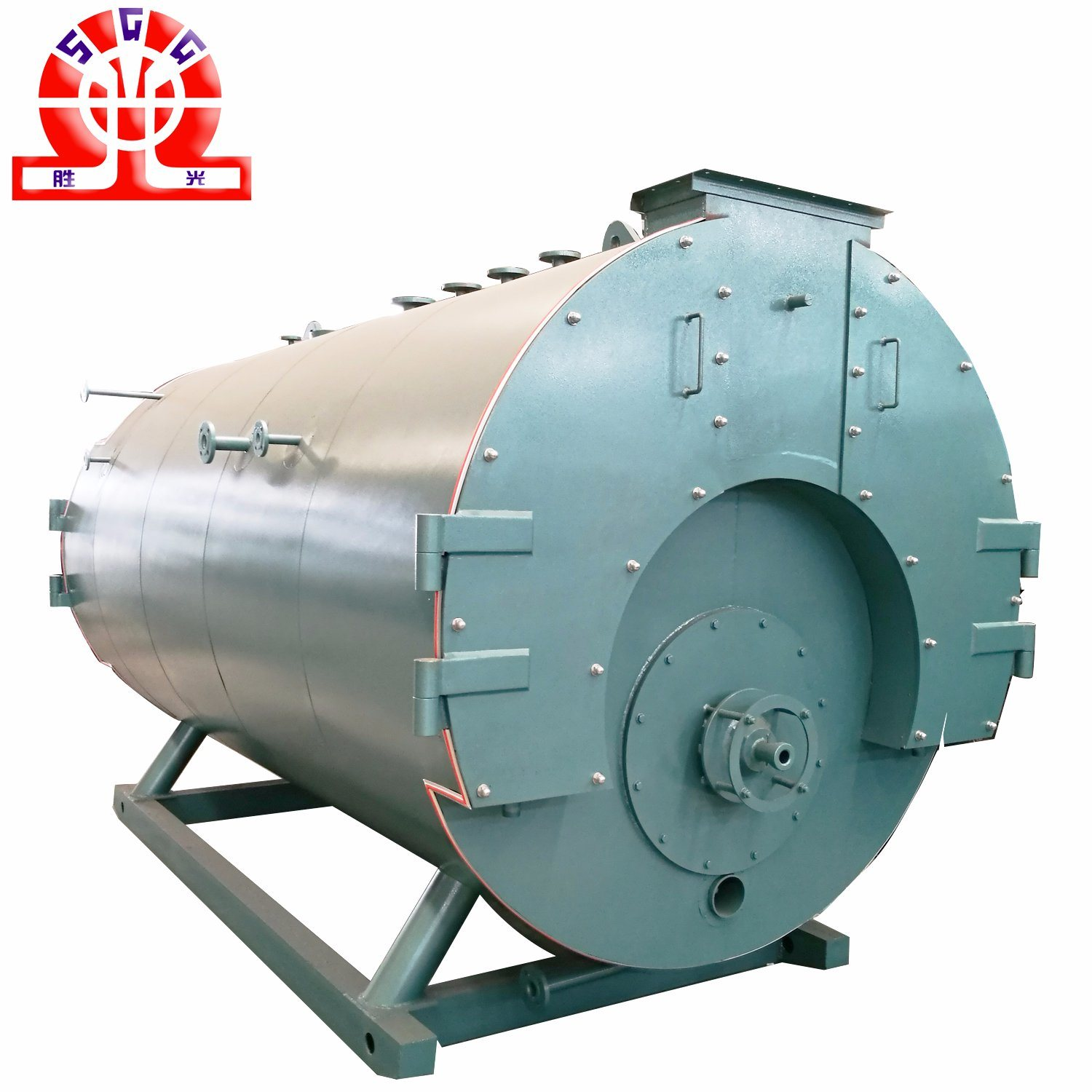 China 2.8MW Single Drum Gas or Oil Wns Hot Water Boiler - China ...