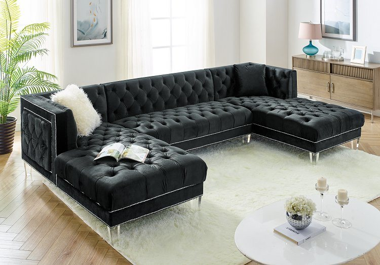 China Corner Group Modern Sofa Set 3pcs