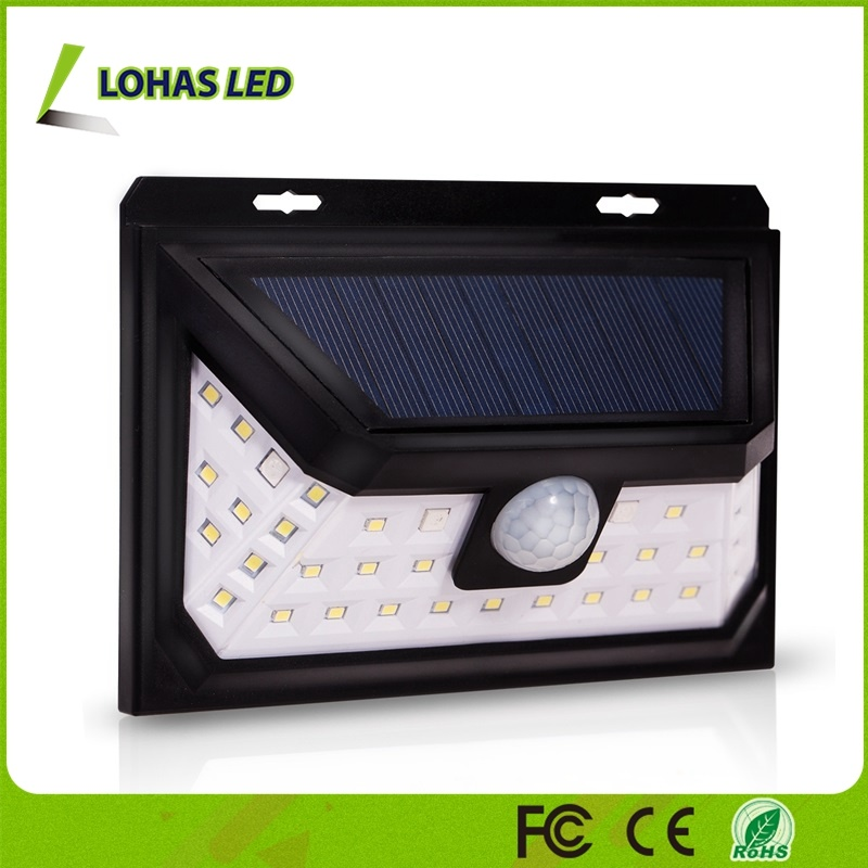 Outdoor Waterproof Motion Sensor Solar Bright Security Lights LED Solar Lights pictures & photos