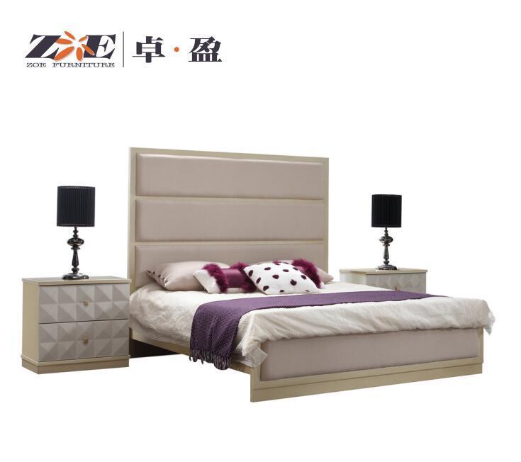China Bedroom Furniture Luxury Modern Style Bedroom Set King Size Bed China King Bed Bedroom Bed