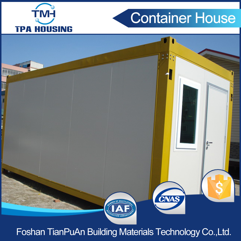 20FT Affordable Accommodation Container House for Prefabricated Home pictures & photos