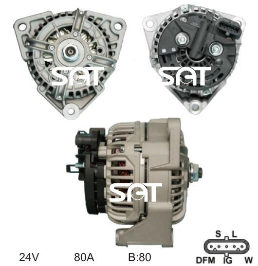 BOSCH 0124555013 Generator