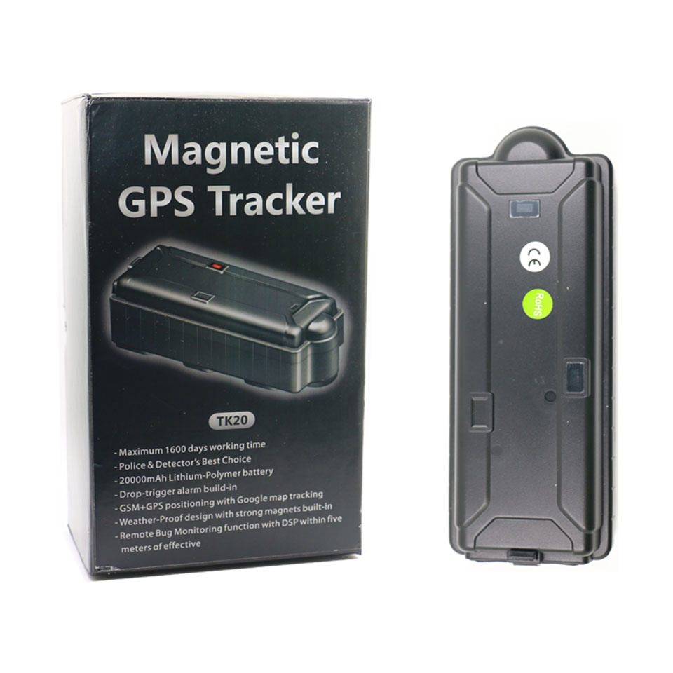 China Long Standby Time GPS Tracker for Car Tk20 Free Android APP
