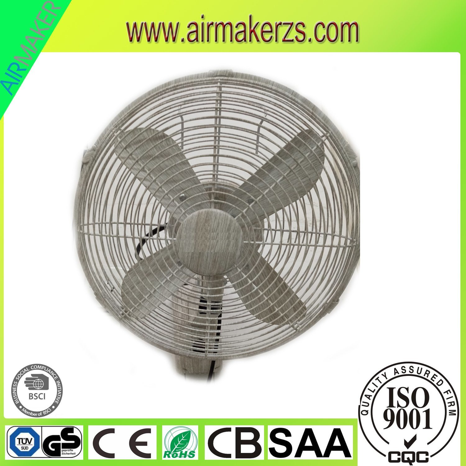Hot Item 12inch Decorative Electric Remote Control Wall Mount Fans