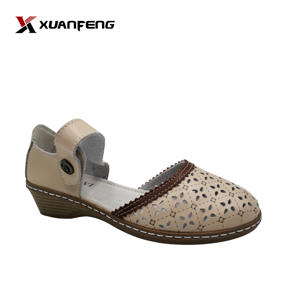 Summer Shoes Womens 2020.Hot Item 2020 Wholesale Hot Sale Summer Anti Slip Lady S Leather Sandals