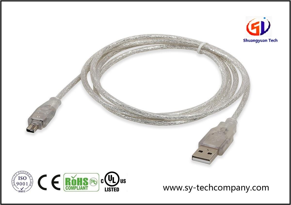 USB /à Firewire c/âble 2-TECH Cables FireWire 4pins