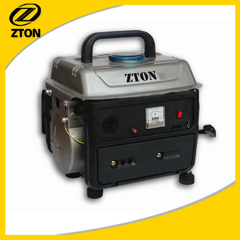 300W-800W Samall Portable 950 Electric Gasoline Generator