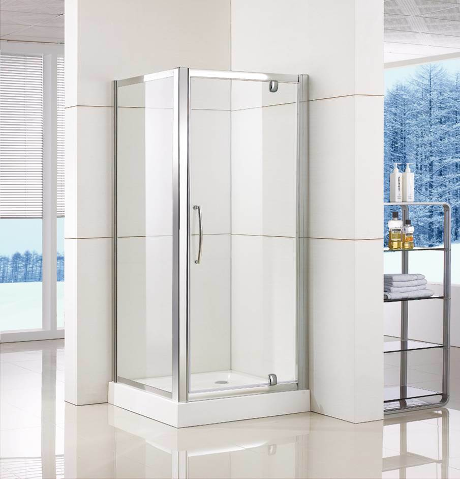 China Pivot Shower Door Ws Ps090 With Double Side Easy Clean Nano