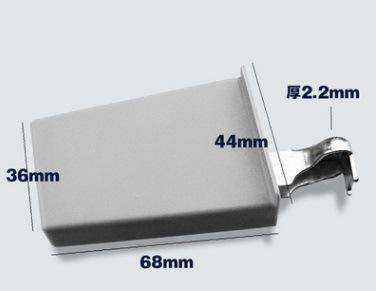 China Plastic Alloy Door Shock Absorbers Kitchen Cabinet Door Buffer