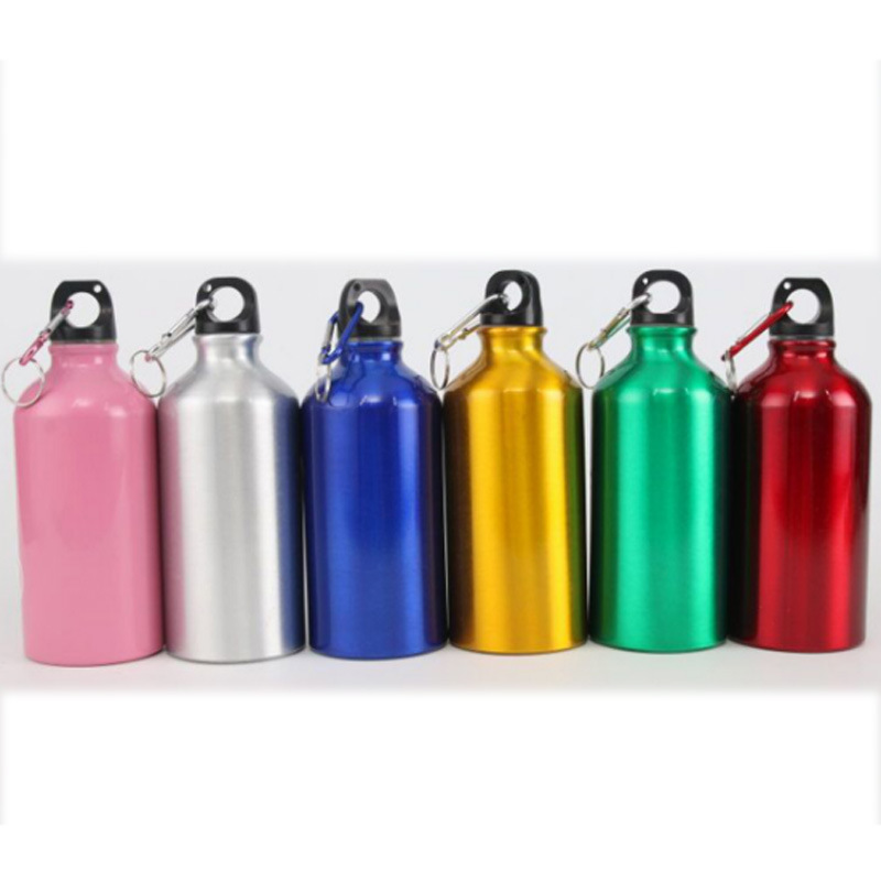 500ml/350ml/750ml High Quality Customize Logo Aluminum Alloy Single Wall Non Insulated Bike Water Bottle pictures & photos
