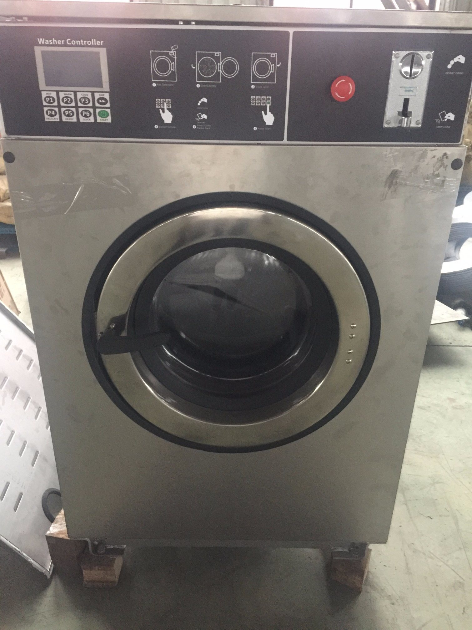 Coin Washing Machine >> China Coin Washer Machine Coin Washer Extractor China Commercial