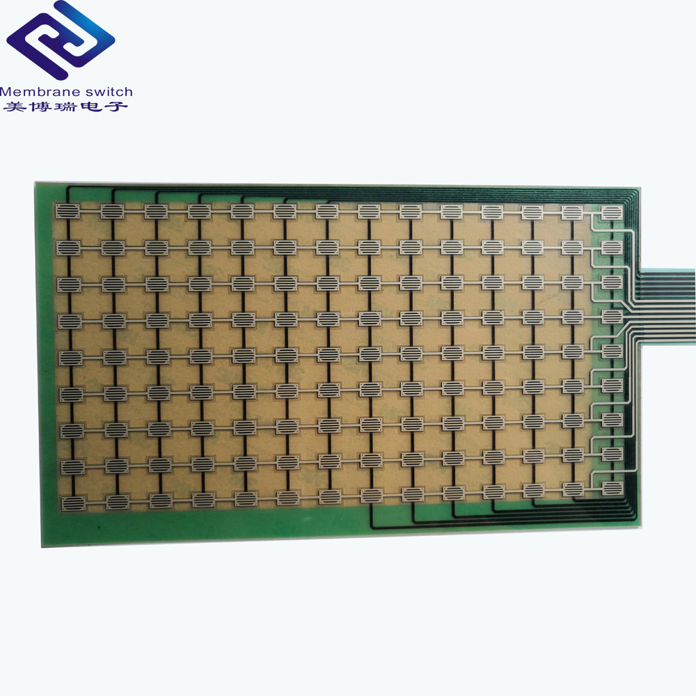China Pc Pet Circuit Capacitive Touch Button Membrane Switch Panel Circuits