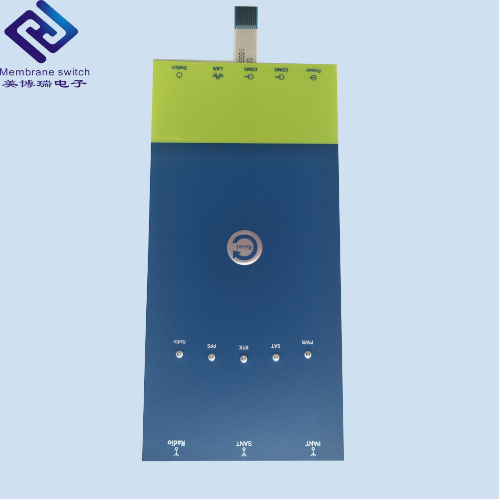 China Pc Pet Circuit Capacitive Touch Button Membrane Switch Panel