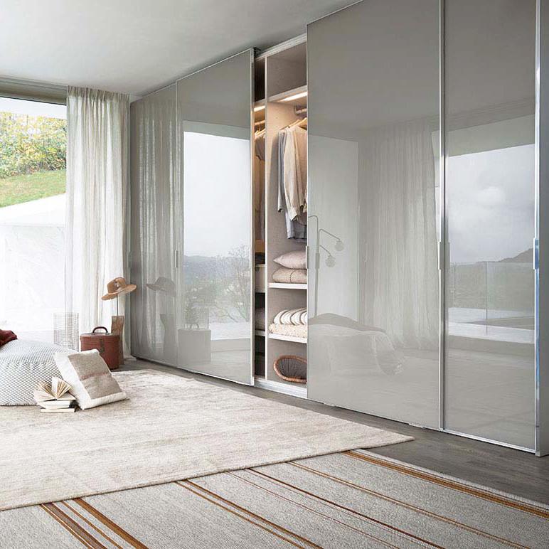 China Wholesale Modern Mirror European Custom Sliding Door