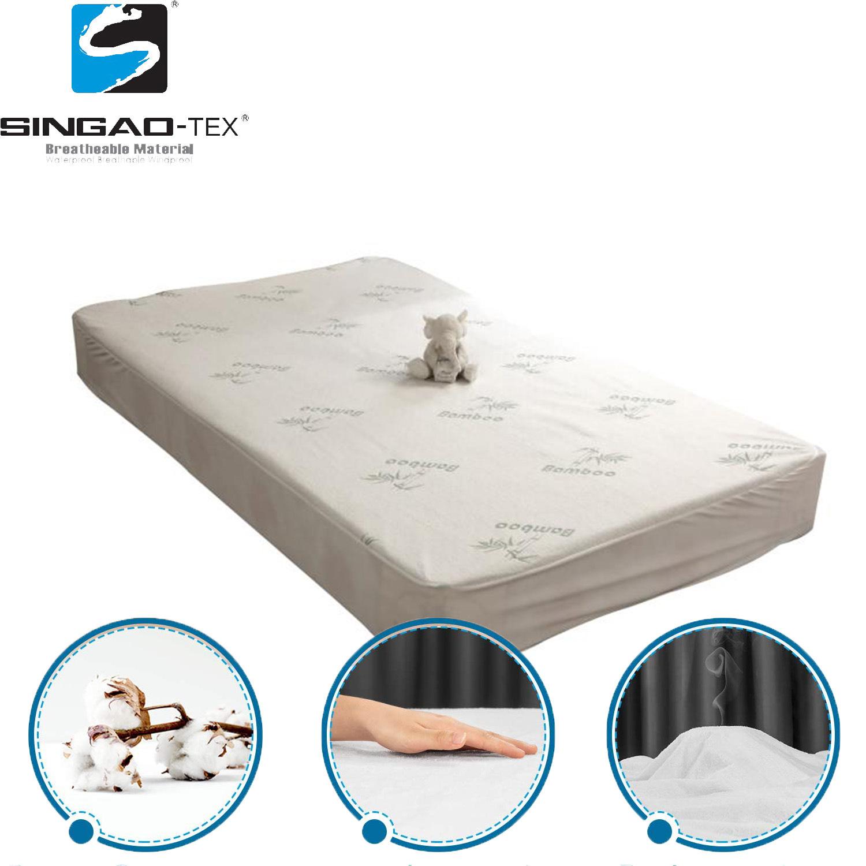 China Full Size Luxury Bamboo Hypoallergenic Waterproof Mattress Cover Mattress Protector China Mattress Cover And Mattress Protector Price