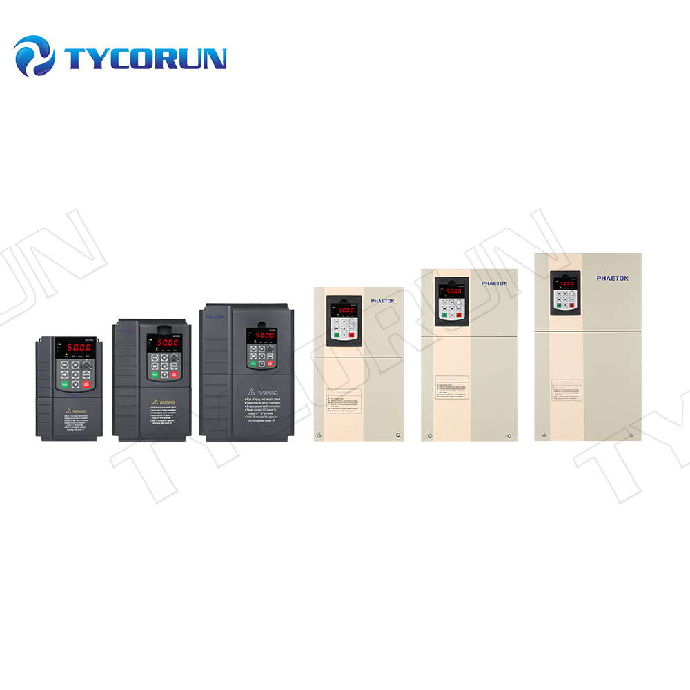 Tycorun 99% High MPPT Efficiency 0.75kw-400kw 380V DC Three Phase PV Solar Pump Inverter