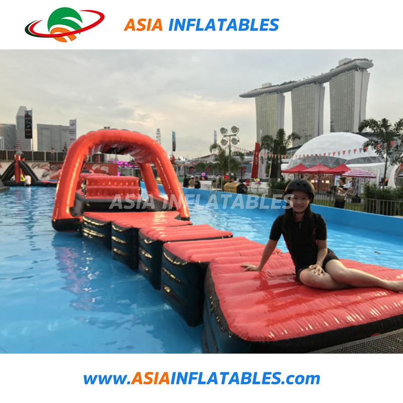 KTS Inflatable Swimming Pool Float Pool Cruiser