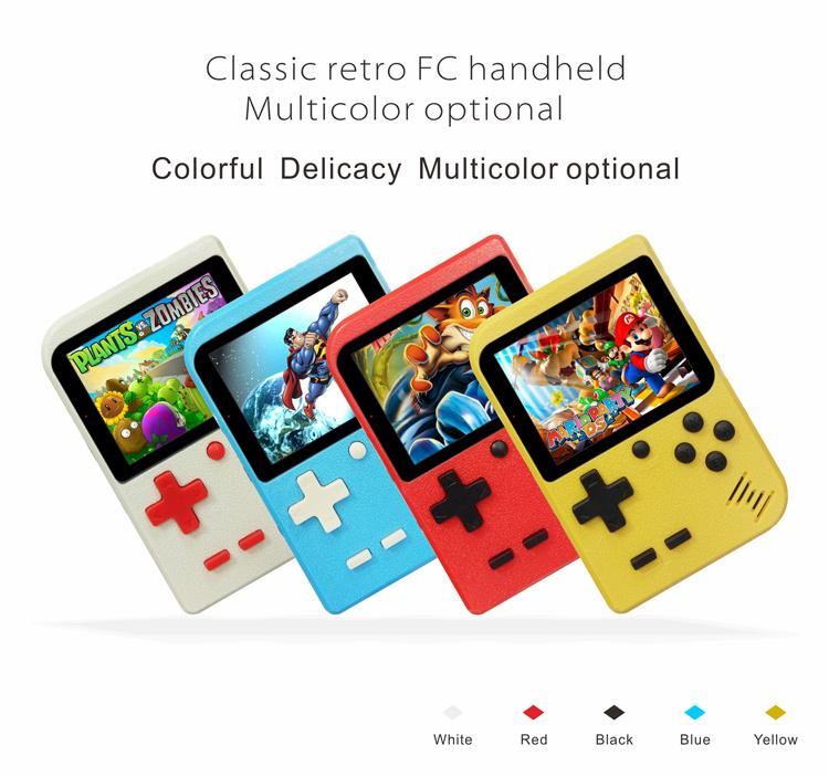 [Hot Item] New Arrival 8 Bit Retro Mini FC Handheld Game Console for  Children