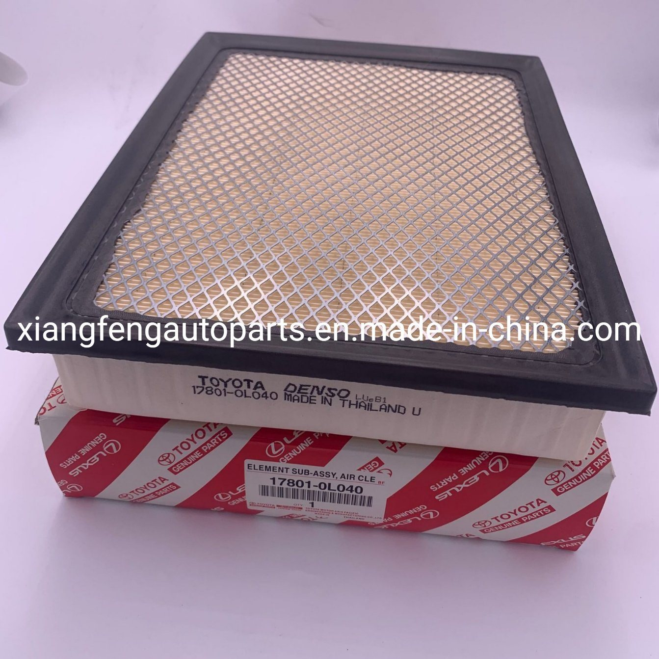 1gd 2gd Wholesale Quality Air Filter 17801-0L040 for Toyota Hilux Gun122 pictures & photos
