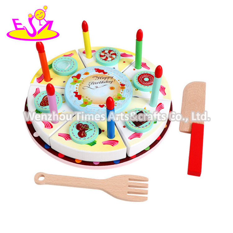 Awe Inspiring China 2020 Most Popular Wooden Birthday Cake Set For Kids W10B337 Funny Birthday Cards Online Eattedamsfinfo