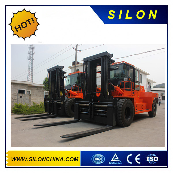 Hydraulic Transmisson Diesel Engine 12t Forklift Truck (Cpcd120) pictures & photos