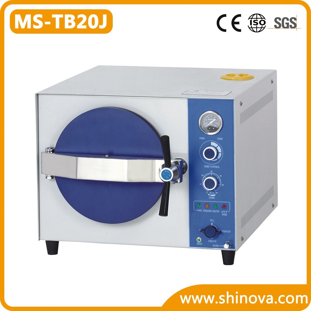 20L Tabletop Autoclave (MS-TB20J)