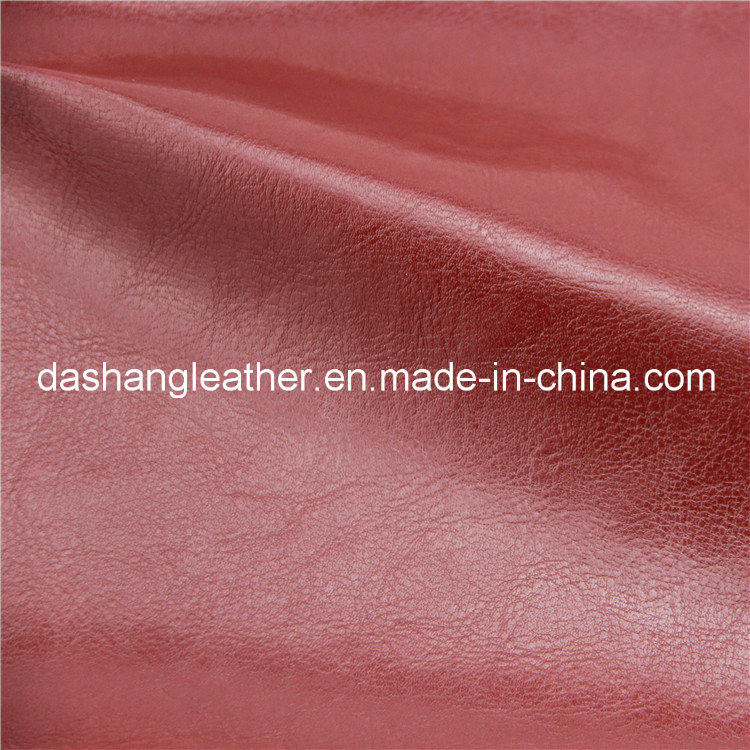(Eco-friendly) Fire Retardant Furniture PVC Leather pictures & photos