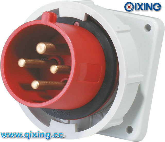China Ip67 Panel Mounted Iec Inlet With Ce Certification Qx832