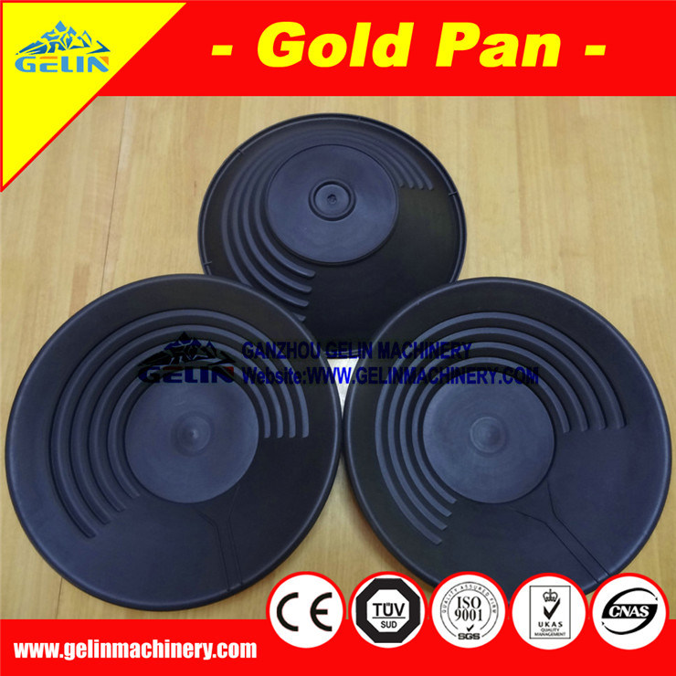 Low Cost Alluvial Gold Pan, Gold Washing Pan for Sand Gold Ore Washing & Separation