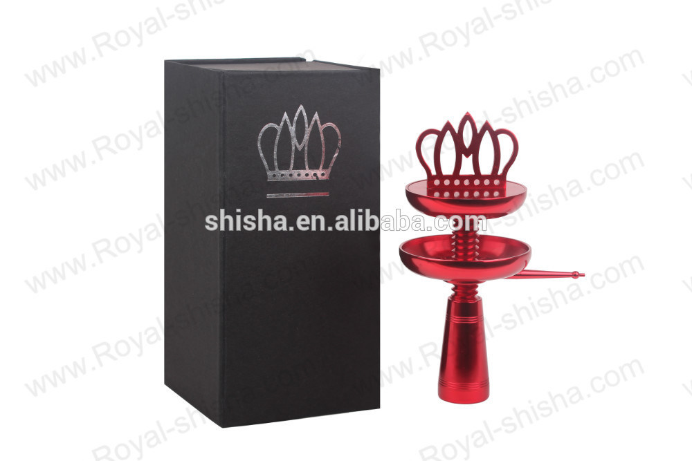 Fashion Crown Hookah Accessories Stainless Shisha Hookah Bowl Head