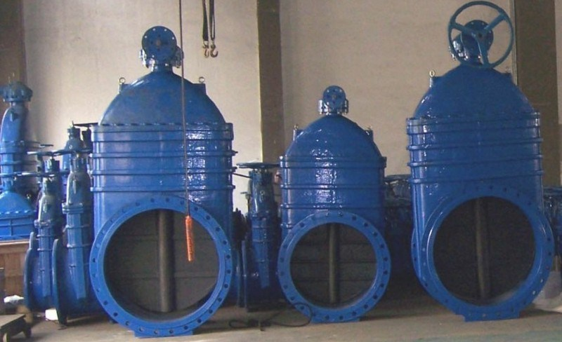 Big Sizes Dn1000 Resilient Flanged Gate Valve