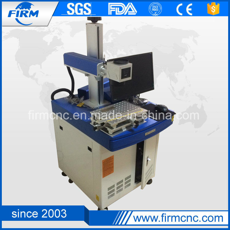 Metal and Hard Plastic Fiber Laser Marking Machine pictures & photos