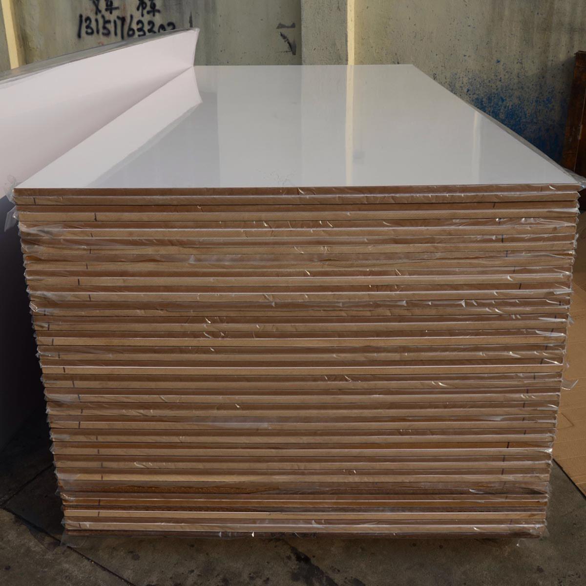 China acrylic white mdf board aboard