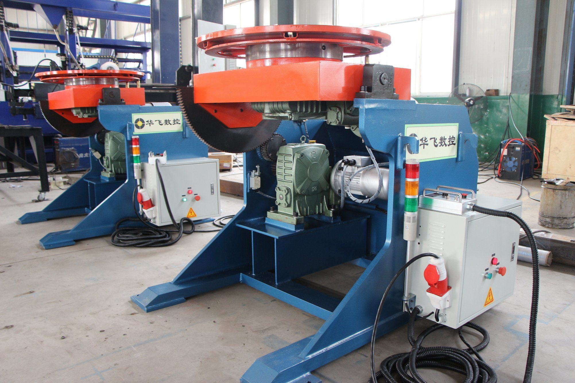 Jinan Huafei Welding Positioners for Several Models pictures & photos