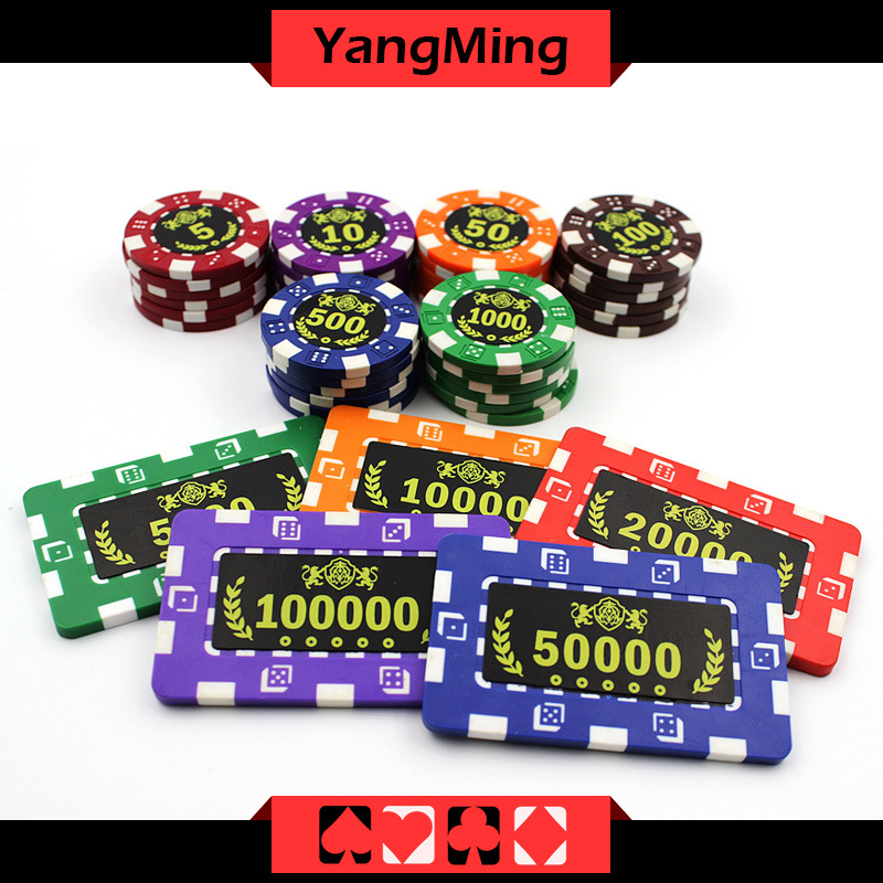 China Custom Printed Poker Chips Roulette Game Of Chess Casino Chips Ym Cp028 Cp029 China Poker Chip And Acrylic Chip Price