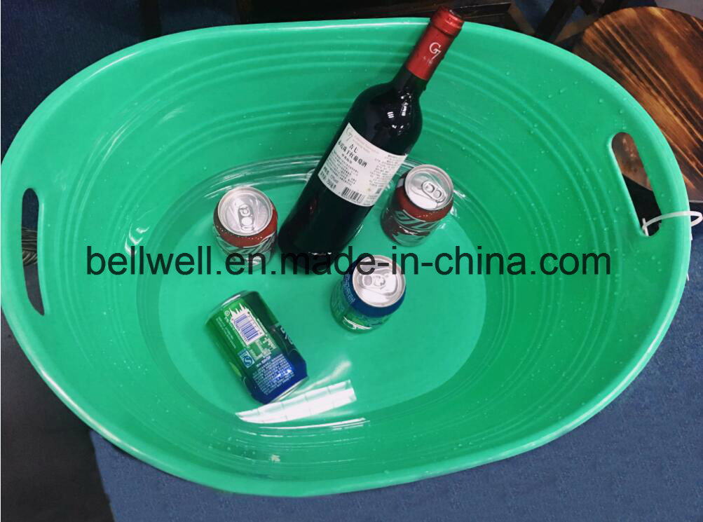 China Large Capacity Plastic Party Tub With Spout Ice Bucket