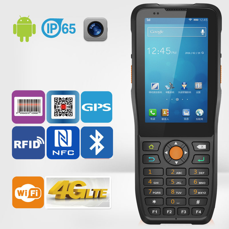 [Hot Item] Ht380k Bar Code 1d 2D Industrial Data Collector Portable PDA  Datalogic Scanner