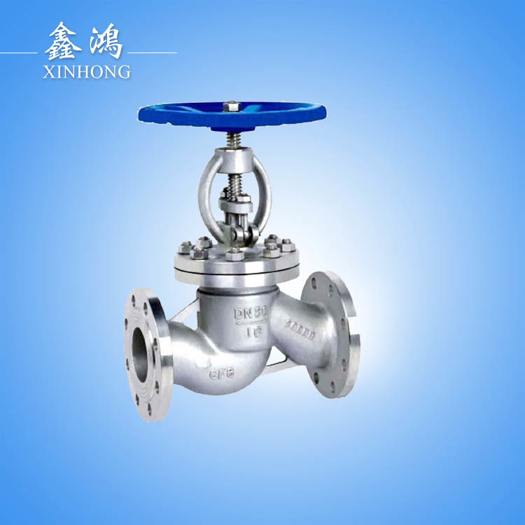 304 Stainless Steel Hight Quality Flanged Globe Valve Dn15 pictures & photos