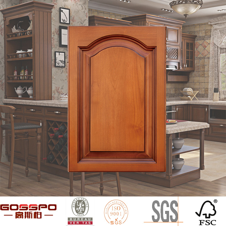 High Quality Solid Wood Kitchen Cabient Door Fronts (GSP5-015)