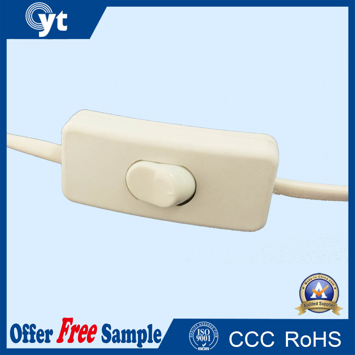 Waterproof Electrical Power Connector Controller Cable for Light