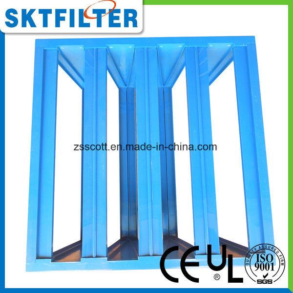 China Air Filter Custom Plastic Frames For V Bank Filter Photos