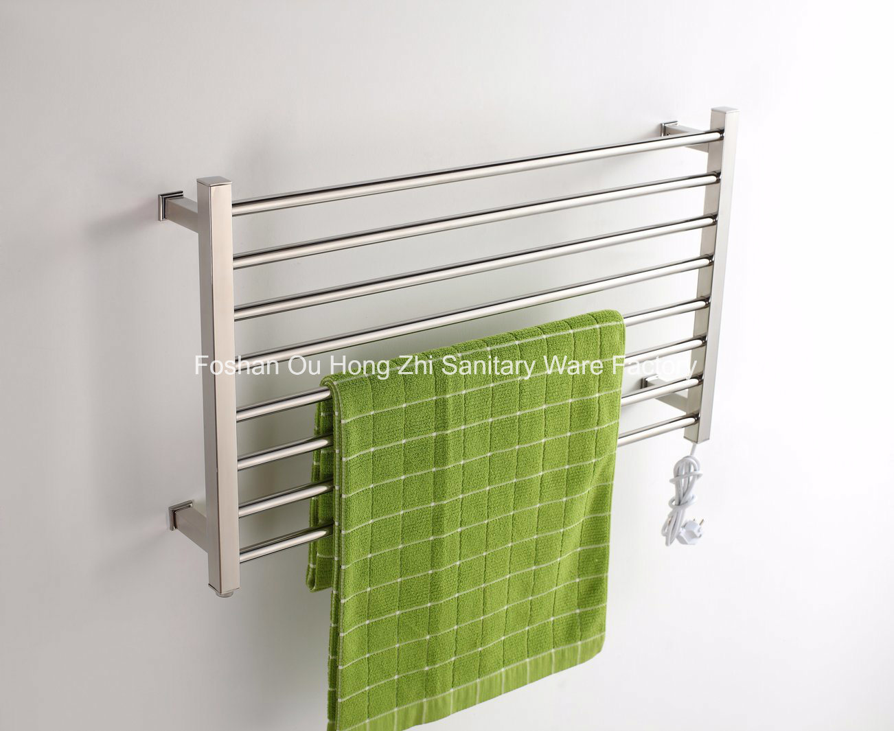 High Grade Stainless Steel 304 Bathroom Electric Towel Radiator