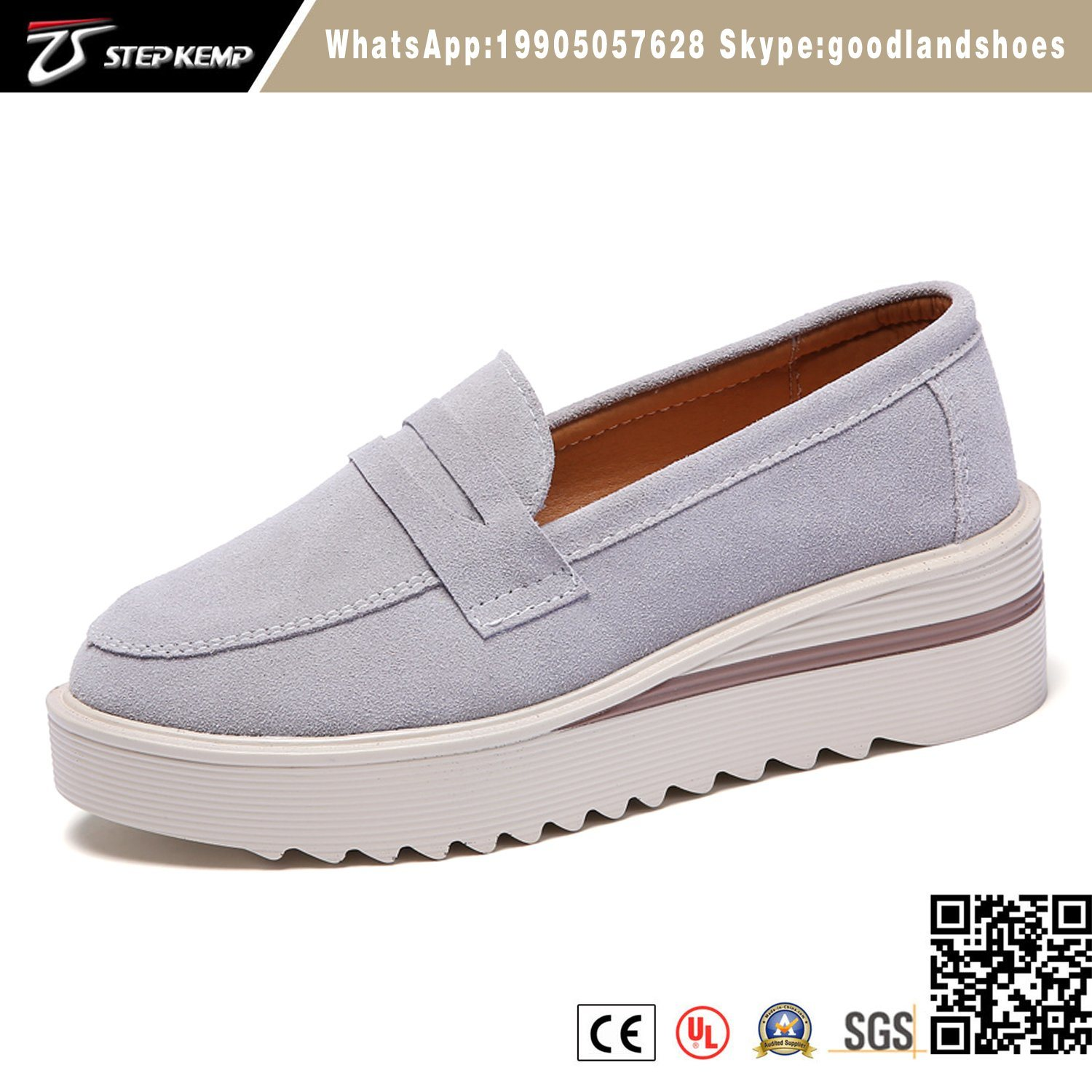 Thick Sole Slip On Casual Shoes