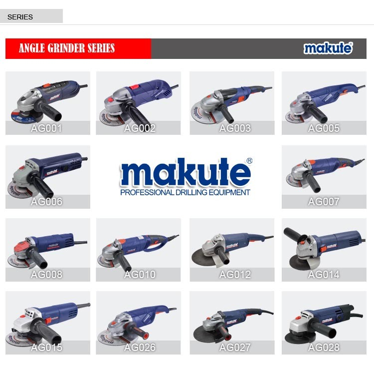 Best Price Makute Angle Grinder Power Tools with Big Power (AG007) pictures & photos