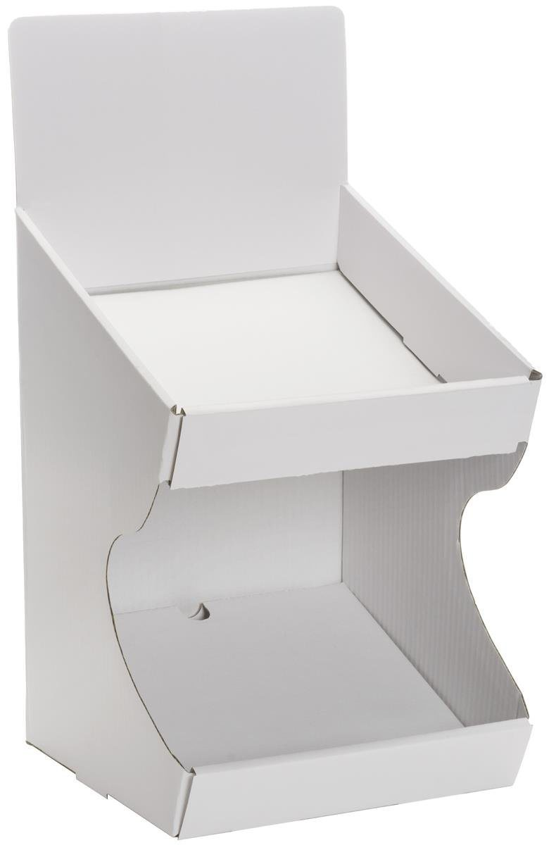 China Stand Store Cardboard Point Of Sale Display Rack For Cdsdvd