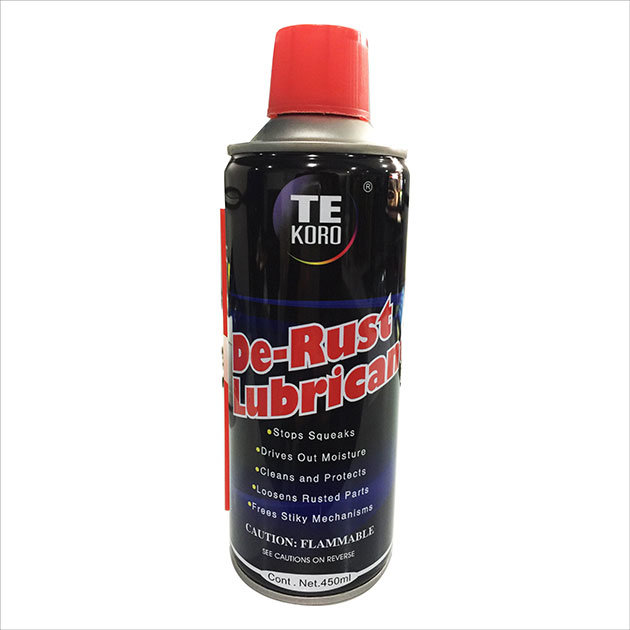 Strong Penetrating Aerosol Cans Antirust Lubricant Oil
