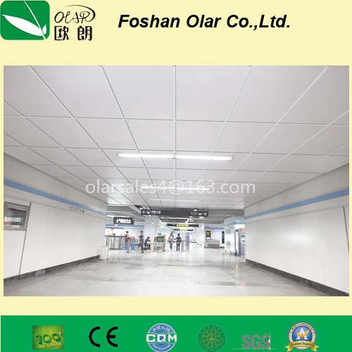 Calcium Silicate Board--Interior Acoustic Ceiling Sheet/ Panel pictures & photos
