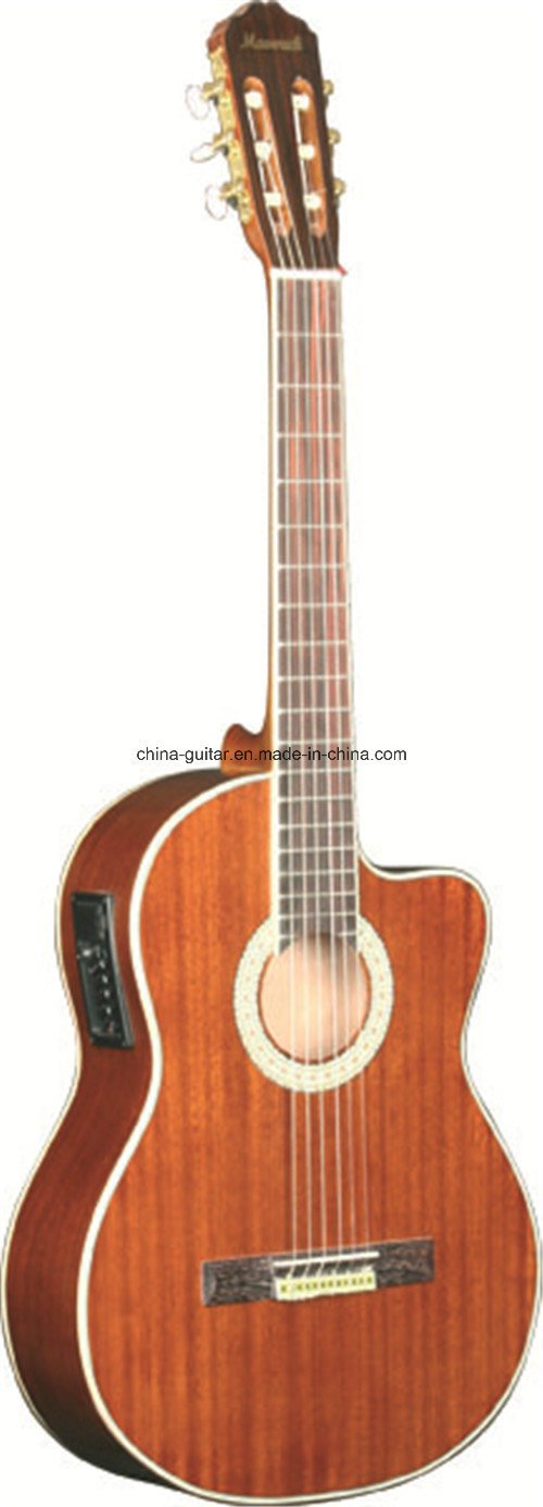 39′′ Cutaway Classic Guitar with EQ